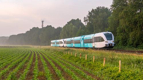 Vorden Arriva (Noord) GTW 327-231 Leeuwarden