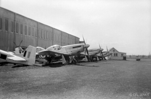1957 RNZAF North American P-51D Mustangs including NZ2416 & NZ2420 for sale at Woodbourne.