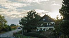 Couché de soleil sur les hauteurs de Bischoffsheim