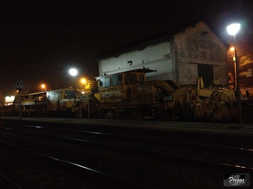 Fergrupo Plasser & Theurer PDB-110 and Duomatic 08-32 Maintenance Locomotives - Granja