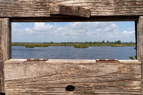 who framed this landscape?