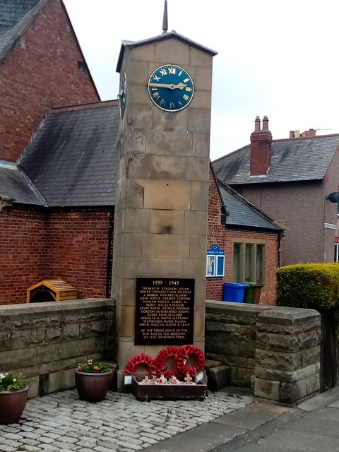 Memorial Clock Tower, New Hartley