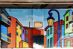 Mural - Carrer de la Ciutat de Mula Valencia
