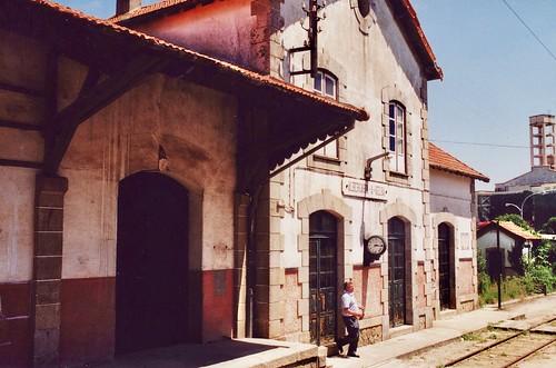 Estação da Albergaria-a-Velha, Portugal
