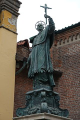 Statue of San Carlo Borromeo @ Chiesa Santa Maria Podone @ Milan
