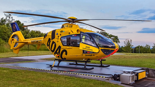 ADAC Luftrettung / Eurocopter EC-135 P2 / D-HLGB