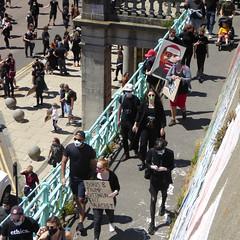 Black Lives Matter Brighton Demo