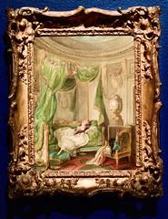 A dangerous Romance (Paris, c.1781) - Niklas Lafrensen (1737-1807)