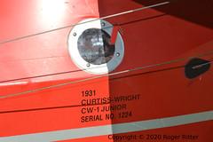 PFM8: Curtiss-Wright CW-1 Junior NC-11850