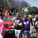 LA Pride BLM March and Honey Yellow Hortns-329