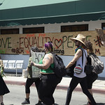 LA Pride BLM March and Honey Yellow Hortns-313