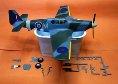 Accurate Miniatures Mustang Mk.Ia nearing completion.