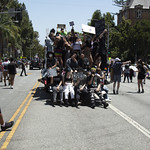 LA Pride BLM March and Honey Yellow Hortns-302