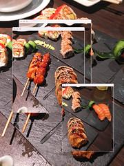 Japanese sushi, Marrakech, Morocco