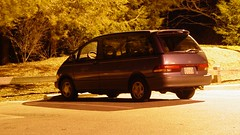 Toyota Previa at Mill Mountain Park