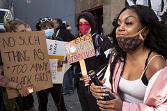 strippers protest racial discrimination