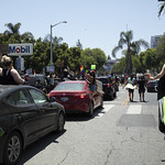 LA Pride BLM March and Honey Yellow Hortns-311