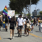 LA Pride BLM March and Honey Yellow Hortns-309