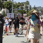 LA Pride BLM March and Honey Yellow Hortns-307