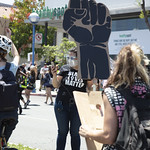 LA Pride BLM March and Honey Yellow Hortns-319