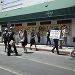 LA Pride BLM March and Honey Yellow Hortns-312