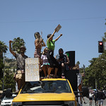 LA Pride BLM March and Honey Yellow Hortns-304