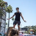 LA Pride BLM March and Honey Yellow Hortns-299