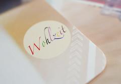 Macro Monday - Label ( on a postcard )