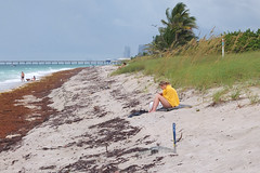 Covid-19 Pandemic Social Distancing South Florida Beaches No Longer Under Lockdown
