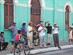 Musiciens de rue (Granada, NIcaragua)
