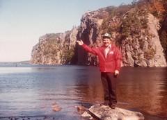 Ed Buck at Bon Echo - mid 1970s.