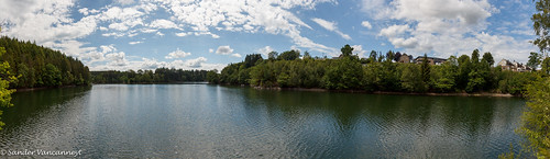 Lac de Robertville panorama