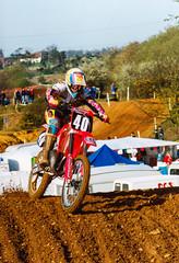 MotoCross Nathan Shelton, Honda
