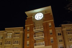 Clock at Pentagon Row