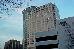 1801 North Lynn Street, viewed from Rosslyn Center parking garage [02]