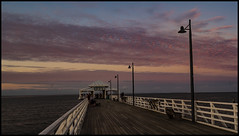Sunset Cloud over Shorncliffe Jetty-1=