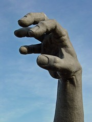 """Right hand section of """"The Awakening"""""""