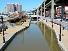 Canal Walk near Shockoe Bottom