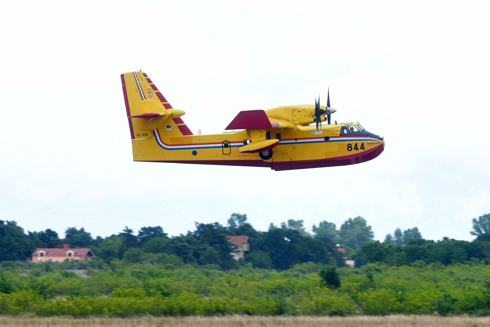 Hrvatski Canadairi spremni za sudjelovanje u RescEU snagama za gašenje požara