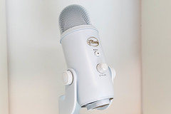 Best-selling professional multi-pattern USB microphone for studio-quality recordings: Yeti by Blue