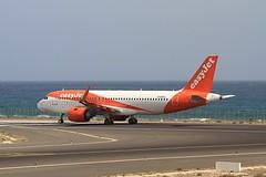 G-UZHJ A320 EasyJet Lanzarote 07-03-2020