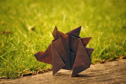 Origami Hedgehog (Sergey Yartsev)