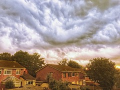 Thunderstorms tonight, Burntwood