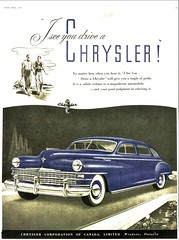 1947 Chrysler Sedan (Canadian Ad)