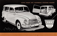 1960 Auto Union 1000 Universal Station Wagon