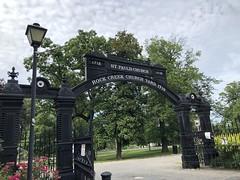 Gates to Rock Creek Cemetery and St. Paul's Church, Rock Creek Church Road NW, Washington, D.C.