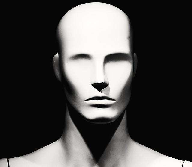 Le visage sans yeux - The face without eyes