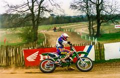Moto Cross Ricky Priest. Kawasaki,