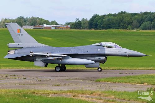 FA-97 F-16AM Fighting Falcon | EBFS | 16.06.2020
