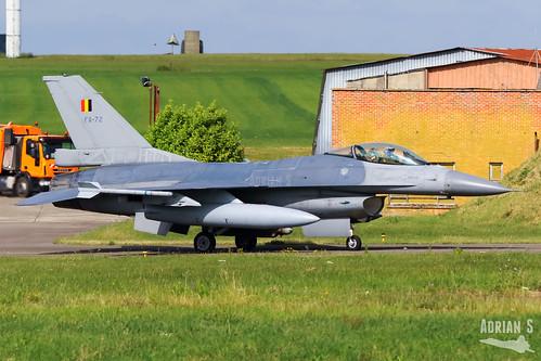 FA-72 F-16AM Fighting Falcon | EBFS | 16.06.2020